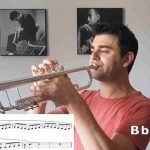 Cataldo Barreca suona scale musicali per la tromba